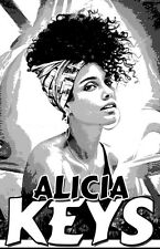 "ALICIA KEYS ""Black Light"" Poster"