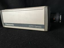 Panasonic CCTV Security Camera Lot Wv-1414 Wv-Bl204 Transformer And Mount Stands