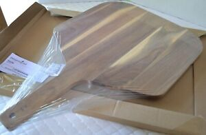 Pampered Chef ~New~ ACACIA WOOD PIZZA PEEL - Beautiful & Practical!