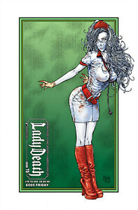 LADY DEATH  #15 COMIC ECCC SUNDAY - BOUNDLESS LTD TO 350 - EMERALD CITYCOMIC CON