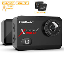 Campark X30 Action Sport Camera UHD 4K WiFi 20MP Video Touch Underwater 40M Cam