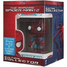 "AMAZING SPIDERMAN COFFRET 2 BLU RAY + FIGURINE SPIDER MAN FUNKO ""POP"""