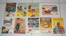 Lotto 8 Pubblicità HARBERT MUPI Minicinex VisoreTopolino anni 70 Advertising