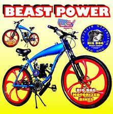 "66Cc/80Cc 2-stroke motorized bike kit and 26"" gas tank frame bicycle"