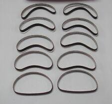 "10 Abrasive Belts ""Medium Grit"" Sharpening Bands for Maimin Cutting Machine"