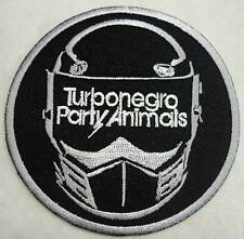 TURBONEGRO Party Animals embro patch grey Turbojugend Black Flag Turbonegra