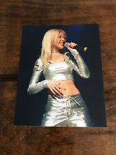 Vintage Christina Aguilera 8x10 Glossy Photo Singing Genie In A Bottle