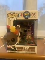 ROSA AROUND THE WORLD FUNKO POP 05 MEXICO WITH PIN BADGE POP #05