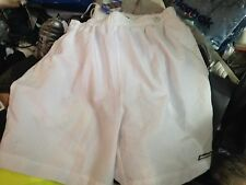 REEBOK SHORTS IN WHITE IN MED OR LARGE 30/32 34/36 INCH AT £6 INNER BRIEF