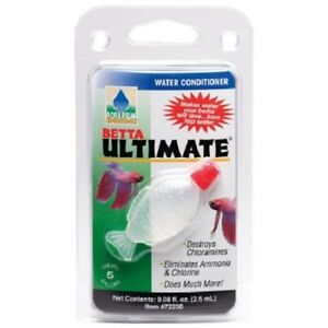 Betta Ultimate Water Conditioner For Bettas treats 5 gallons