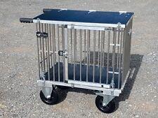 "Titan 1 Berth MIDI Aluminium Dog Show Trolley with 8"" All Terrain Wheels"