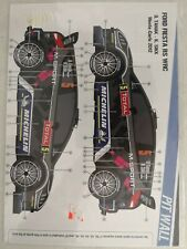 PIT WALL 1/24 rally decals FORD FIESTA WRC RS Montecarlo 2012 Tanak
