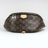 100% Authentic Louis Vuitton Monogram Brown Bumbag RARE!