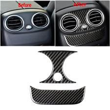 Carbon Fiber Rear Air Vent Cover Molding Trim For Mercedes-Benz C-Class W205 GLC