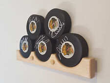 Hockey Puck Display Case Holder / Rack (3)