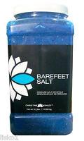 Chistine Ashley Pedicure Salt Crystals, BAREFEET SALT ,  9.5 lbs