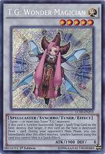 1x Yugioh LC5D-EN213 T.G. Wonder Magician Secret Rare - 1st Edition