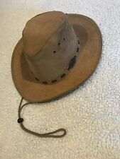 The Original Rogue Outdoor Gear Suede Leather Pamplona Medium Pull Cord/Brim