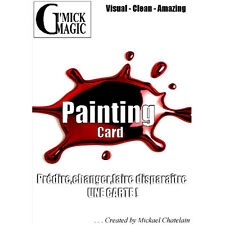 Mickael Chatelain - Painting Card + DVD - Tour de Magie