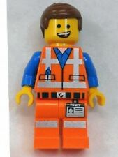 Lego Movie 70818 Minifigs - Emmet (Lopsided Open Mouth Smile)
