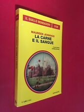 Maureen JENNINGS - LA CARNE E IL SANGUE Giallo Mondadori/3120 (2014) Libro
