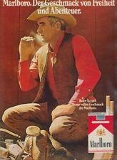 Marlboro Zigaretten - Reklame Werbeanzeige Original-Werbung 1972 (2)