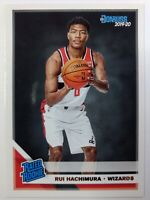2019-20 Panini Donruss Rated Rookie Rui Hachimura RC #208, Washington Wizards