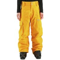 Wed'ze by Decathlon Unisex Yellow Evostyle Waterproof Ski/Snow Pants