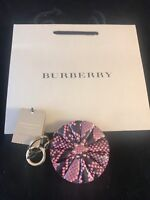 BNWT FOSSIL Ladies Thank You Enjoy Key Bag Charm inc Dustbag Gift Ideal