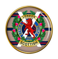 London Écossais Régiment, Armée Britannique Broche Badge