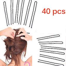 40PCS/Lot Hair Waved Clip Women U Shape Hair Holder DIY Updo Essential Hairpins