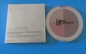 It Cosmetics Anti-Aging Matte Bronzer, Brightening Blush Tint & Illuminator NEW