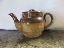 New listing Royal Doulton*Salt Glaze *Hunting*Small 8oz Teapot* Mint Condition*Recessed Lid