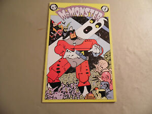 Mr Monster #4 (Eclipse 1985) Free Domestic Shipping