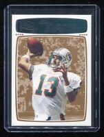 2008 Topps Rookie Progression Bronze #105 Dan Marino (Dolphins) #'d 232/389
