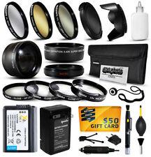 Kits de accesorios de batería para cámaras de vídeo y fotográficas Sony