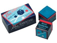 6 Pieces Of New Longoni Blue Diamond Premium High End Pool Cue & Billiard Chalk