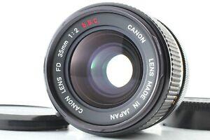 【Exc+++++】 Canon FD 35mm f/2 S.S.C. SSC Wide Angle MF Lens from JAPAN #2090