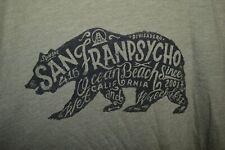 NEW San Franpsycho Francisco SF Clothing Line Graphic T-Shirt Mens Medium