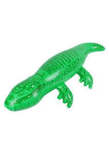 Inflatable Crocodile Fancy Dress Accessory Prop Theme Fancy Dressing Up