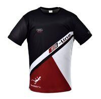 Audi S Line Black Car Motor Sport Digitally Printed Short Sleeve T-shirt