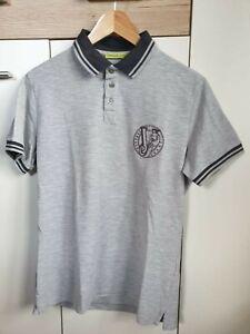Versace Jeans Poloshirt Gr. L, Versace, Versus, grau, schwarz