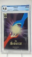 The Source #1 CGC 9.8 1:20 Rare Variant Glow Dark Cover 1 of 12 9.8's in census