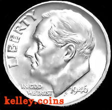 1946 10C Roosevelt Silver Dime BU ~First Year Issue~