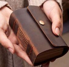 Handmade Genuine Leather Journal Diary Notebook Sketchbook Vintage Rustic Retro