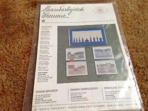 danish designs copenhagen HAANDARBEJDETS FREMME 1986 cross stitch kit
