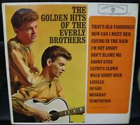 THE GOLDEN HITS OF THE EVERLY BROTHERS - LP 1963 WARNER BROS. W1471 UK ISSUE