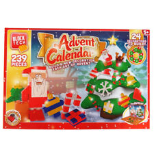Block Tech Christmas Build Advent Calendar, Build a New Tree Decoration Each Day