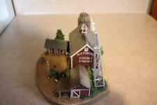 """John Deere Collectable The Old Red Barn by """"The Danbury Mint"""""""