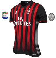 Trikot Adidas AC Mailand 2016-2017 Home [S bis XXL] Serie A Europapokal Milan